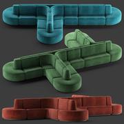 HMD INTERIORS Sofa bistro 3d model