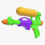 Su tabancası oyuncak 3d model