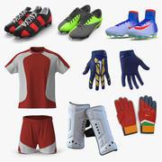 Kolekcja strojów piłkarskich 2 3d model