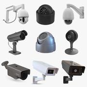 CCTV 카메라 컬렉션 5 3d model