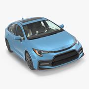 丰田卡罗拉2020 3d model