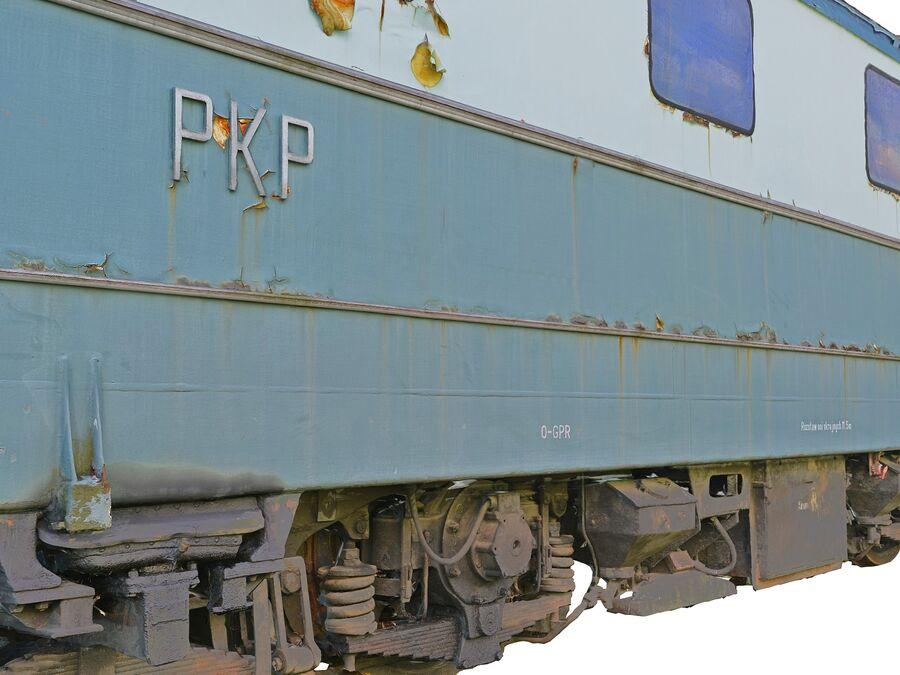 機関車の列車 royalty-free 3d model - Preview no. 8