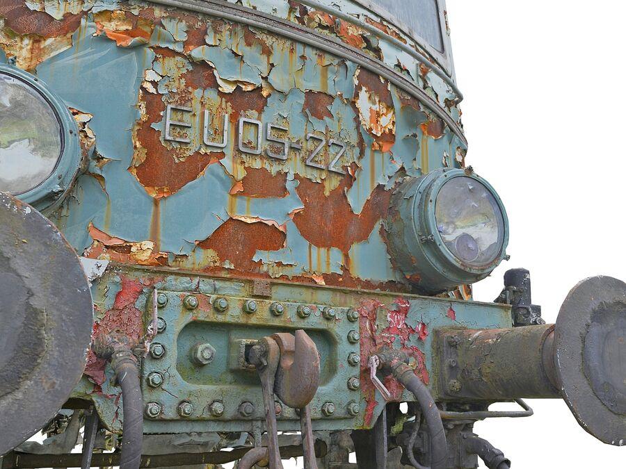 機関車の列車 royalty-free 3d model - Preview no. 12
