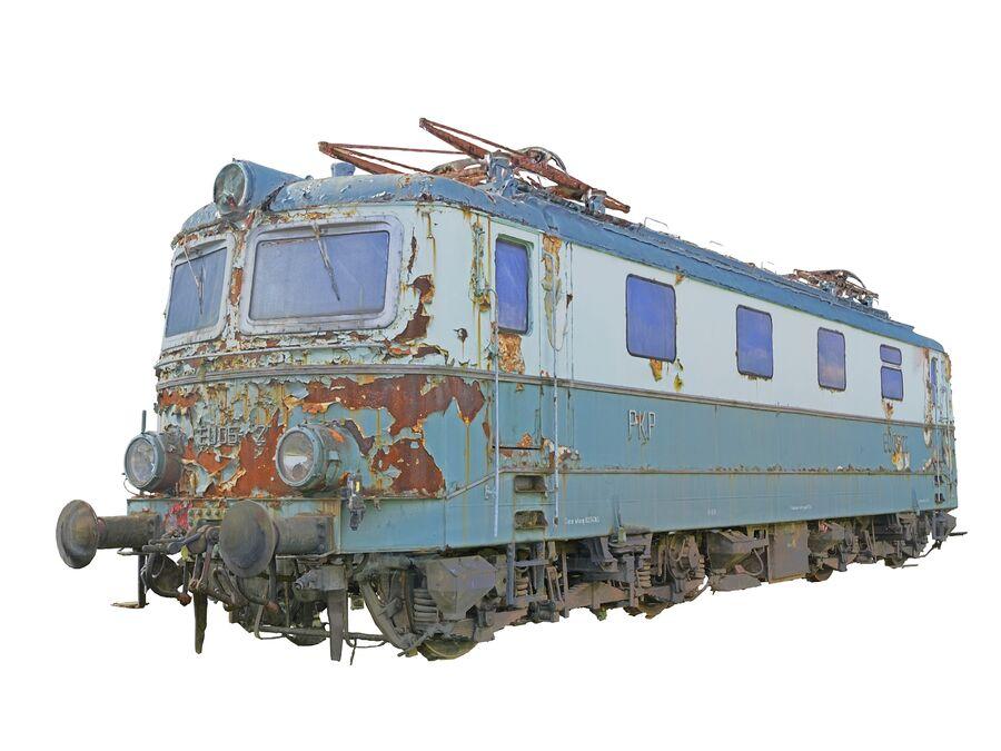 機関車の列車 royalty-free 3d model - Preview no. 10