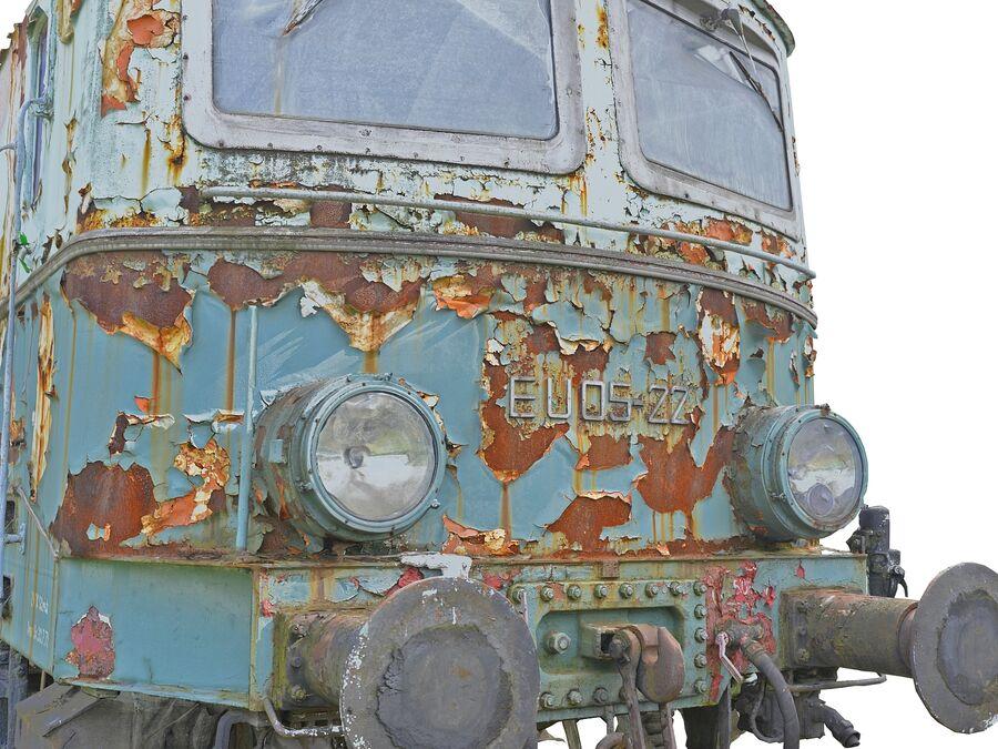 機関車の列車 royalty-free 3d model - Preview no. 9