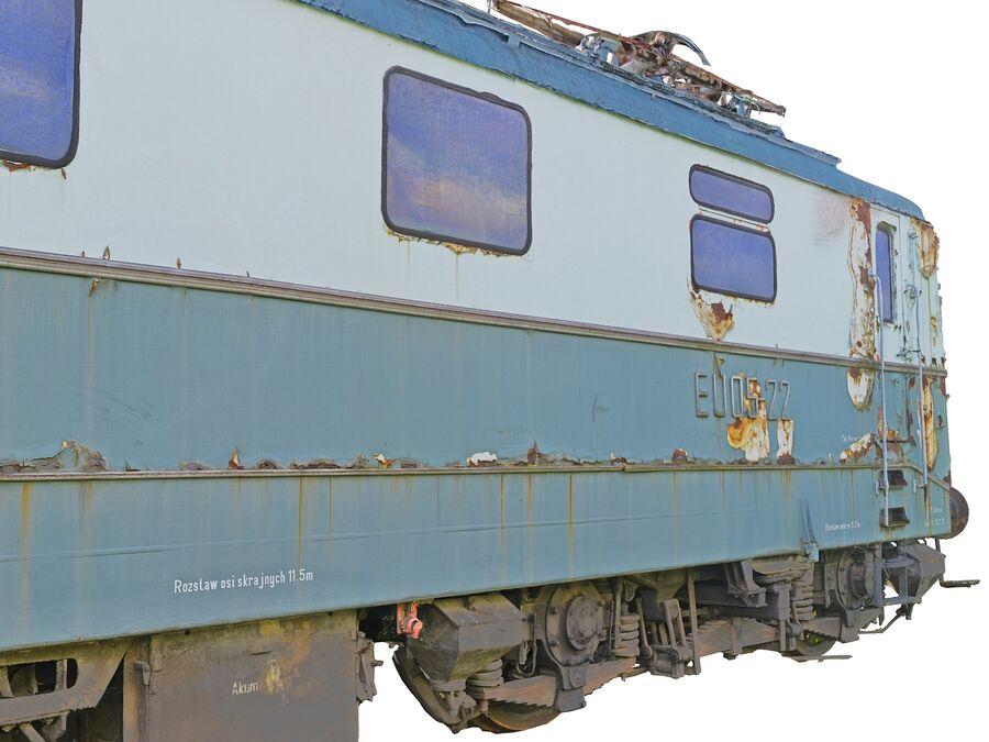 機関車の列車 royalty-free 3d model - Preview no. 7