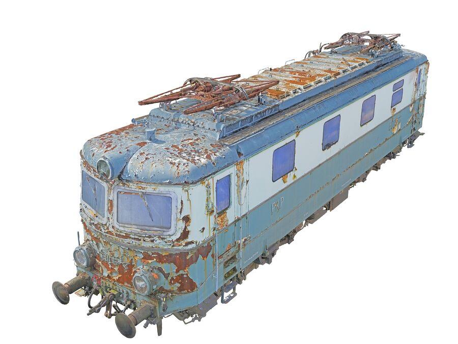 機関車の列車 royalty-free 3d model - Preview no. 5