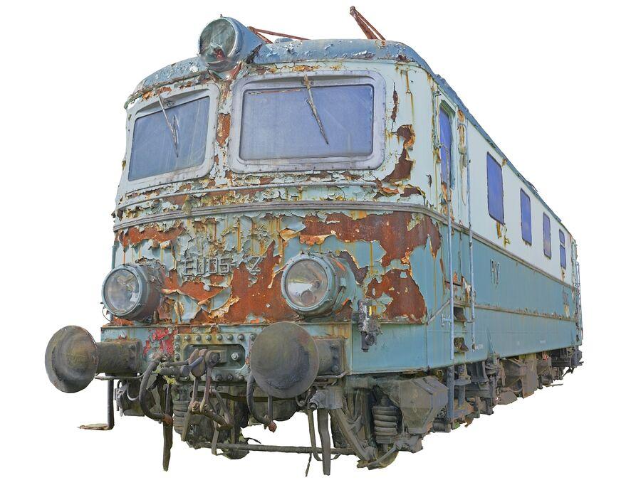機関車の列車 royalty-free 3d model - Preview no. 11