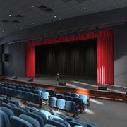 Teatro dell'Assemblea 3d model