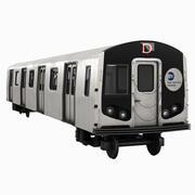 ニューヨークの地下鉄 3d model