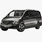 Mercedes-Benz V-Class EQV 2020 3d model