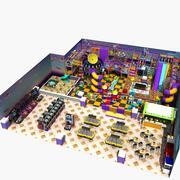 Parque de Diversões 25 3d model