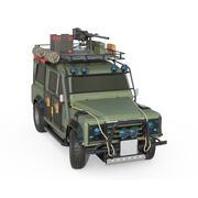 Off-Road 4x4 Defender Vehicle 3d model
