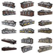 住宅用建物 3d model