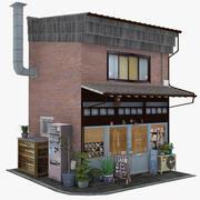 Арабик Кафе 3d model