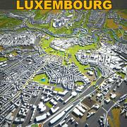 Luxemburger Skyline vol1 3d model