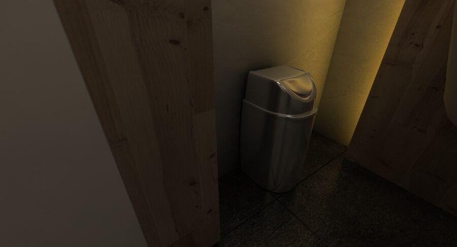Köpcentrum, parkering och kollektion för offentliga toaletter royalty-free 3d model - Preview no. 41