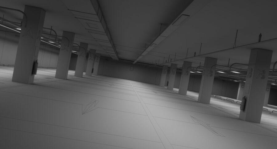 Köpcentrum, parkering och kollektion för offentliga toaletter royalty-free 3d model - Preview no. 24