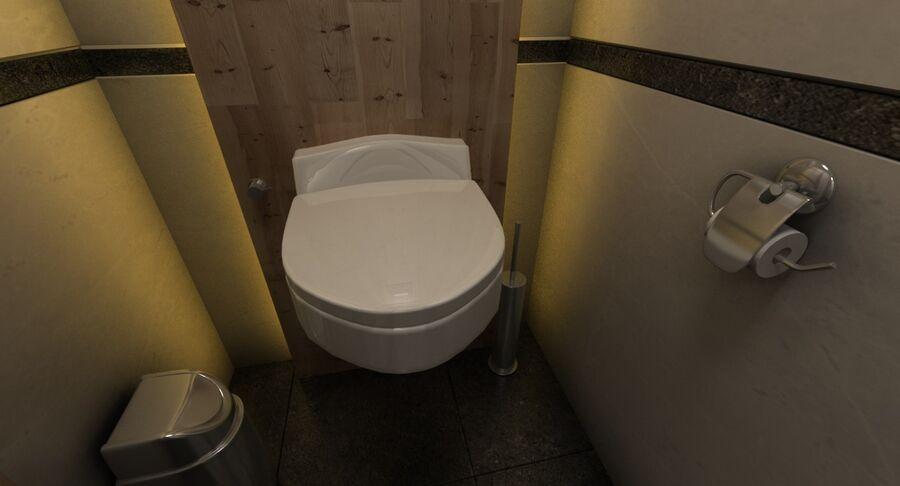 Köpcentrum, parkering och kollektion för offentliga toaletter royalty-free 3d model - Preview no. 40