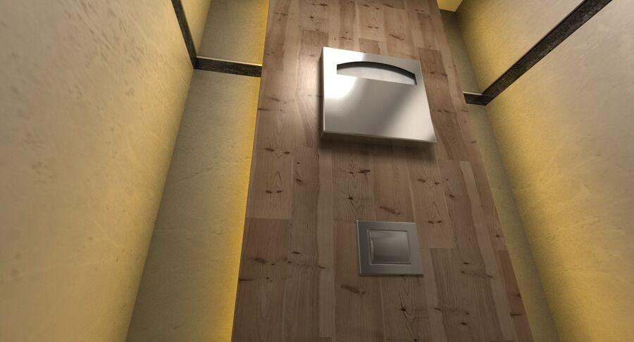 Köpcentrum, parkering och kollektion för offentliga toaletter royalty-free 3d model - Preview no. 42