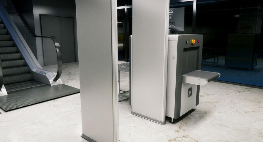Köpcentrum, parkering och kollektion för offentliga toaletter royalty-free 3d model - Preview no. 23