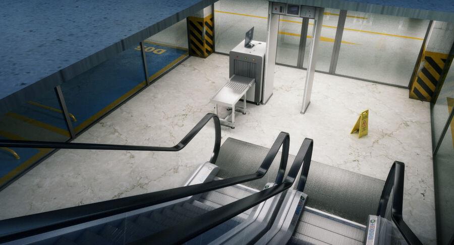 Köpcentrum, parkering och kollektion för offentliga toaletter royalty-free 3d model - Preview no. 27