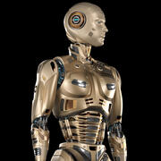 Robot Man 2 Rigged BASIC EDITION 3d model