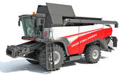 Combine Harvester Rostselmash 3d model