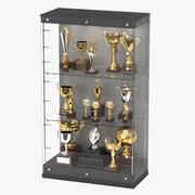 Cas de trophée 3d model