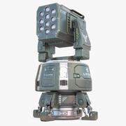 Turret Sci-Fi 3d model