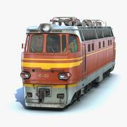 ЧС4 Локомотив 3d model