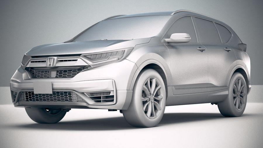 Honda CR-V 2020 royalty-free 3d model - Preview no. 23