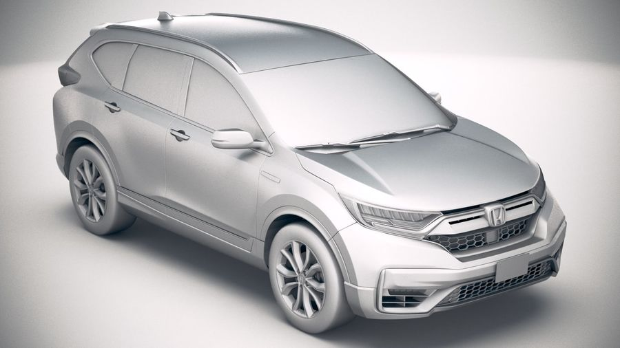 Honda CR-V 2020 royalty-free 3d model - Preview no. 22