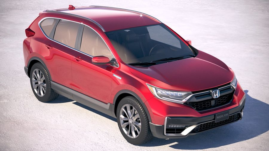 Honda CR-V 2020 royalty-free 3d model - Preview no. 12