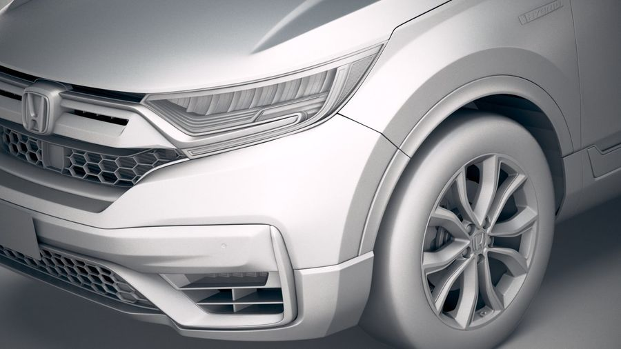 Honda CR-V 2020 royalty-free 3d model - Preview no. 19