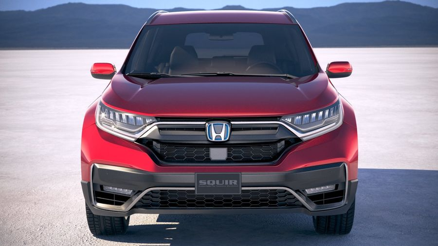 Honda CR-V 2020 royalty-free 3d model - Preview no. 10