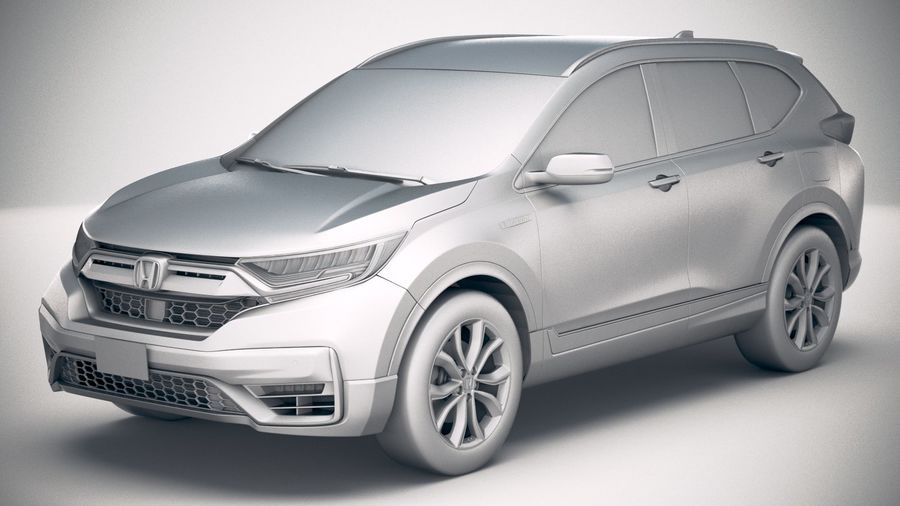 Honda CR-V 2020 royalty-free 3d model - Preview no. 18