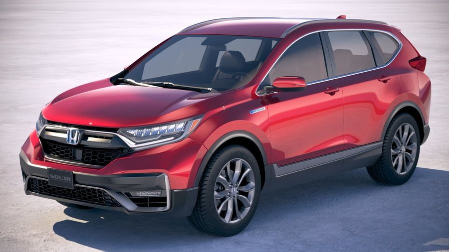 Honda CR-V 2020 royalty-free 3d model - Preview no. 1