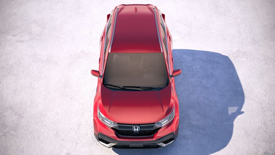 Honda CR-V 2020 royalty-free 3d model - Preview no. 9