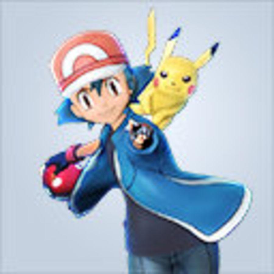 Leuke Pikachu voor 3D-printen royalty-free 3d model - Preview no. 2