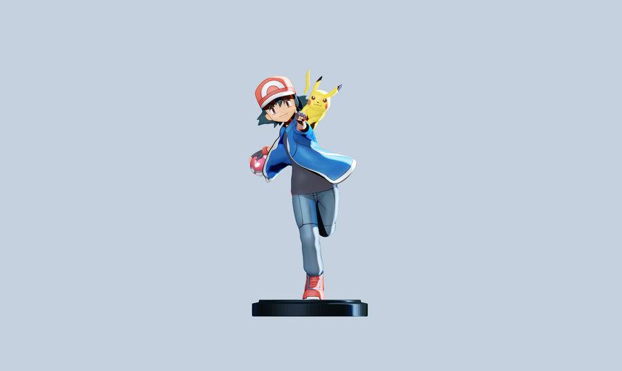 Leuke Pikachu voor 3D-printen royalty-free 3d model - Preview no. 4