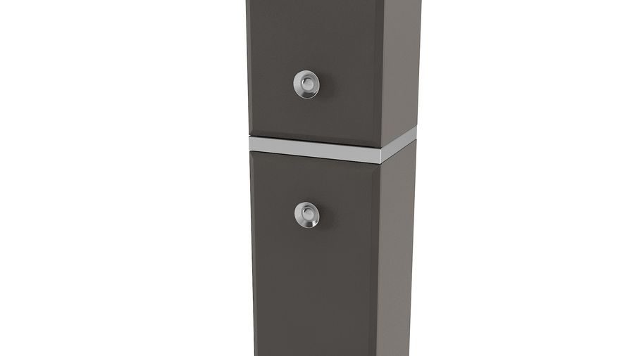 Milldue Bathroom Cabinet royalty-free 3d model - Preview no. 2