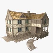 Casa da fantasia 3d model