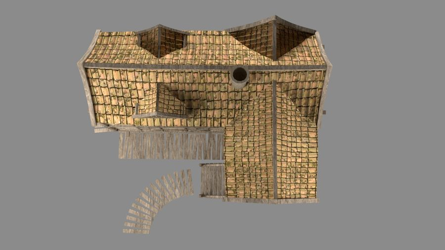 Dom fantasy royalty-free 3d model - Preview no. 10