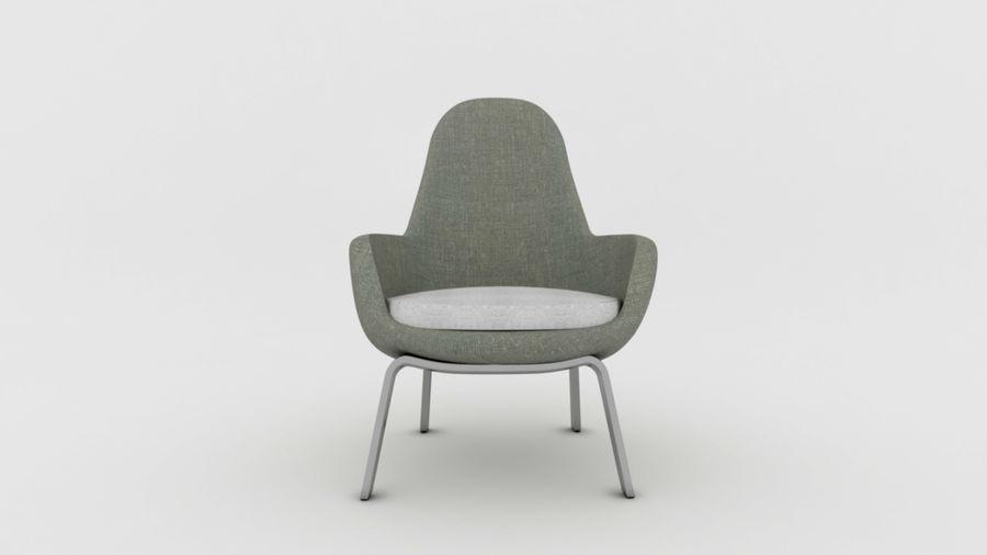 Krzesło Sofa royalty-free 3d model - Preview no. 6