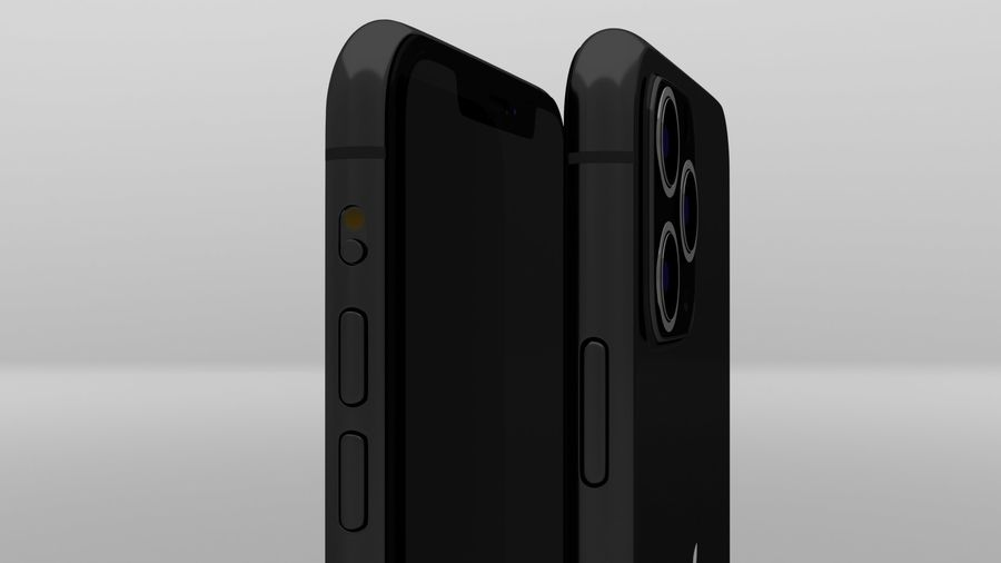 iPhone 11 Pro Max royalty-free 3d model - Preview no. 12