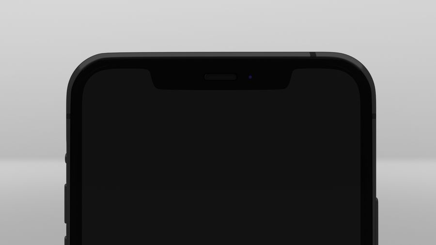 iPhone 11 Pro Max royalty-free 3d model - Preview no. 7