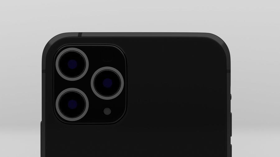 iPhone 11 Pro Max royalty-free 3d model - Preview no. 6