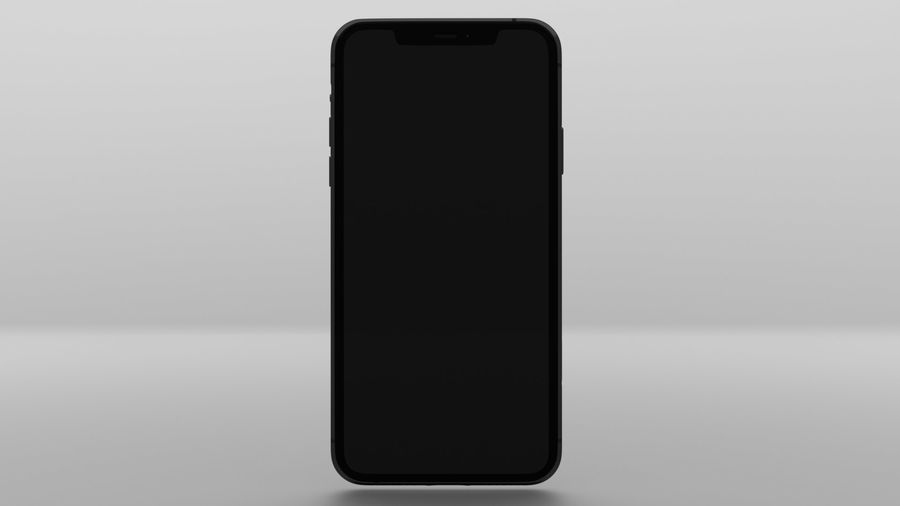 iPhone 11 Pro Max royalty-free 3d model - Preview no. 5