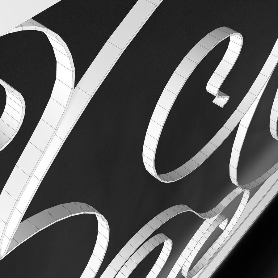 Dekoracyjny płot na werandę royalty-free 3d model - Preview no. 6